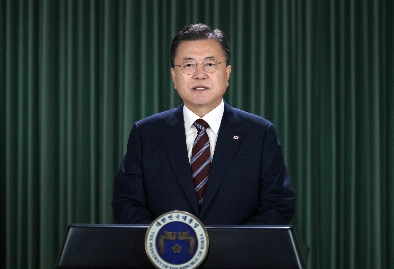 South Korean President Moon Jae-in (Yonhap)