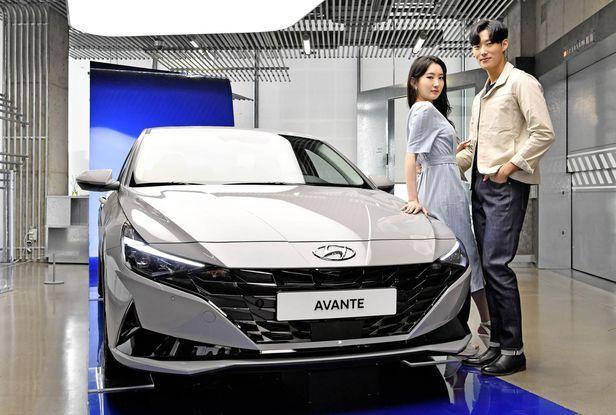 The 7th generation Avante (Hyundai Motor)