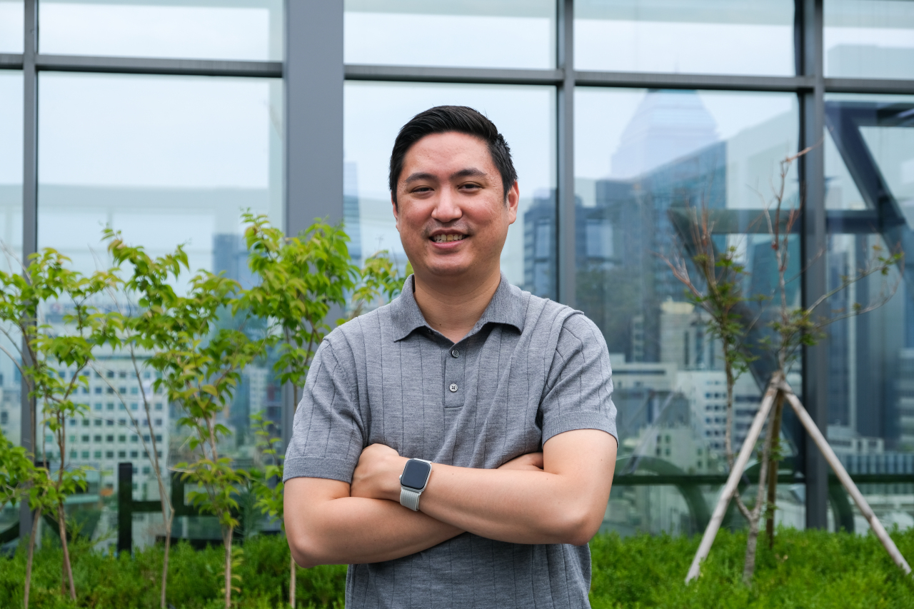 Victor Ching, the founder and CEO of Miso