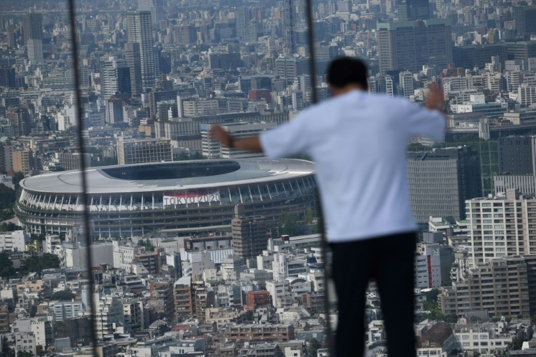 Tokyo`s National Stadium will be the main venue for the delayed 2020 Olympics. (AFP)