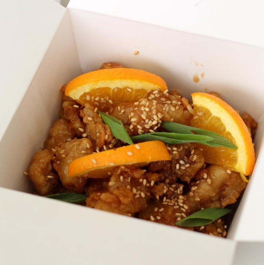 Woktionary's orange chicken (Woktionary)