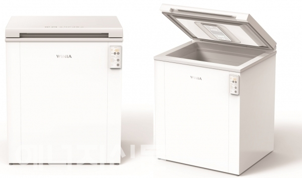 Image of Medibox, a newly developed ultra-low temperature freezer for COVID-19 vaccines. (Winia Dimchae)