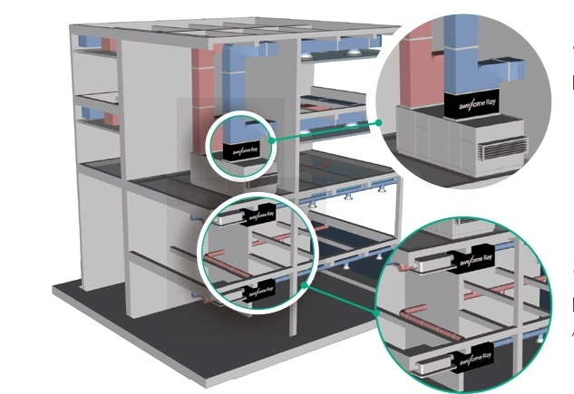 Image of building installation example (aweXome Ray)
