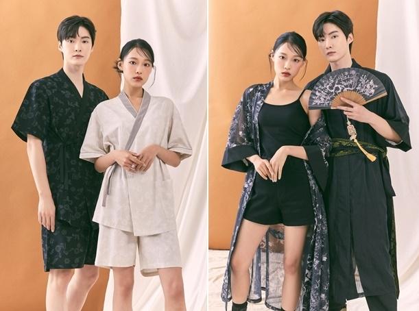 SPAO's new casual hanbok collection (E-Land World)