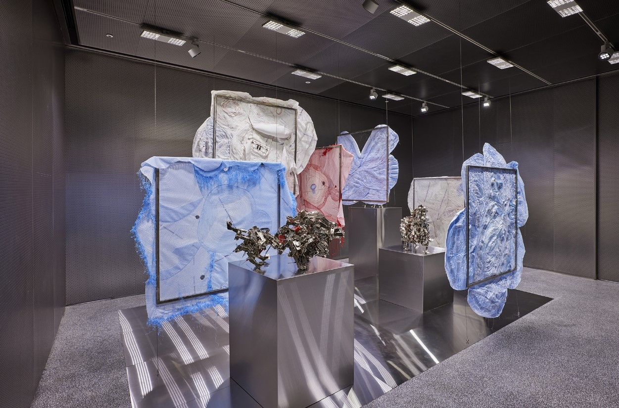 """Installation view of """"Repeat"""" at Byfoundry in central Seoul (Foundry Seoul)"""