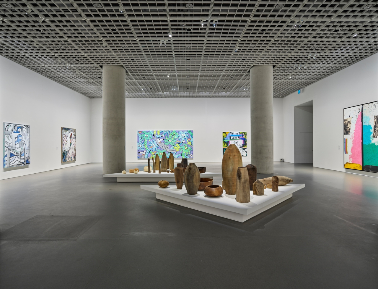 """Installation view of the exhibition """"APMA, Chapter Three"""" at Amorepacific Museum of Art (APMA)"""