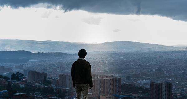 """Bogota: City of the Lost"" stars Song Joong-ki. (Megabox Plus M)"