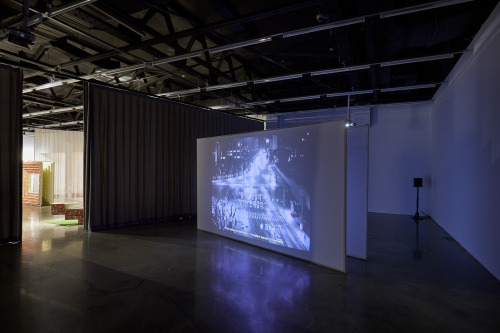 """""""Did a teleport murder the closed circuit"""" by Jun So-jung at the Arko Art Centre (Coutesy of the artist)"""