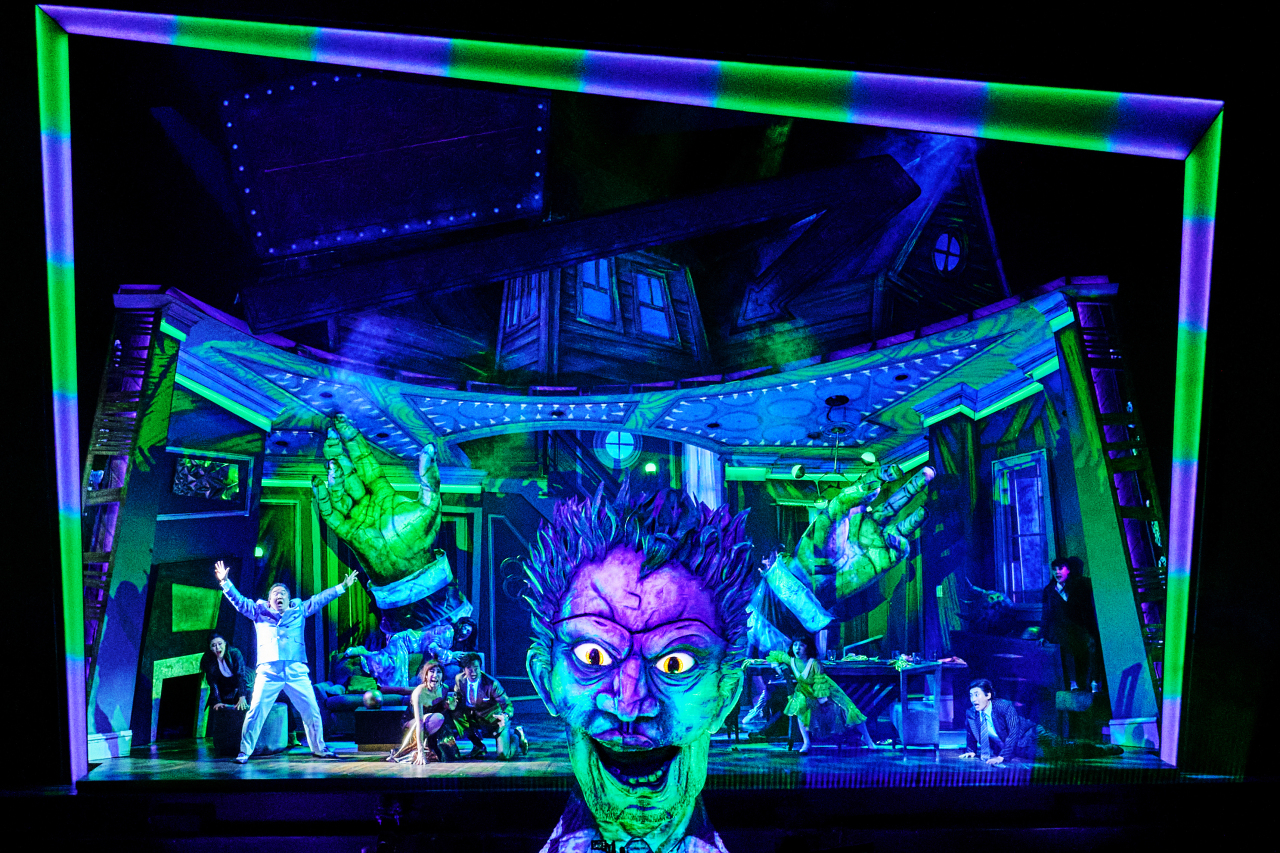 """A scene from the musical """"Beetlejuice"""" (CJ ENM)"""