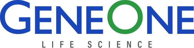 Corporate logo of GeneOne Life Science(GeneOne Life Science)