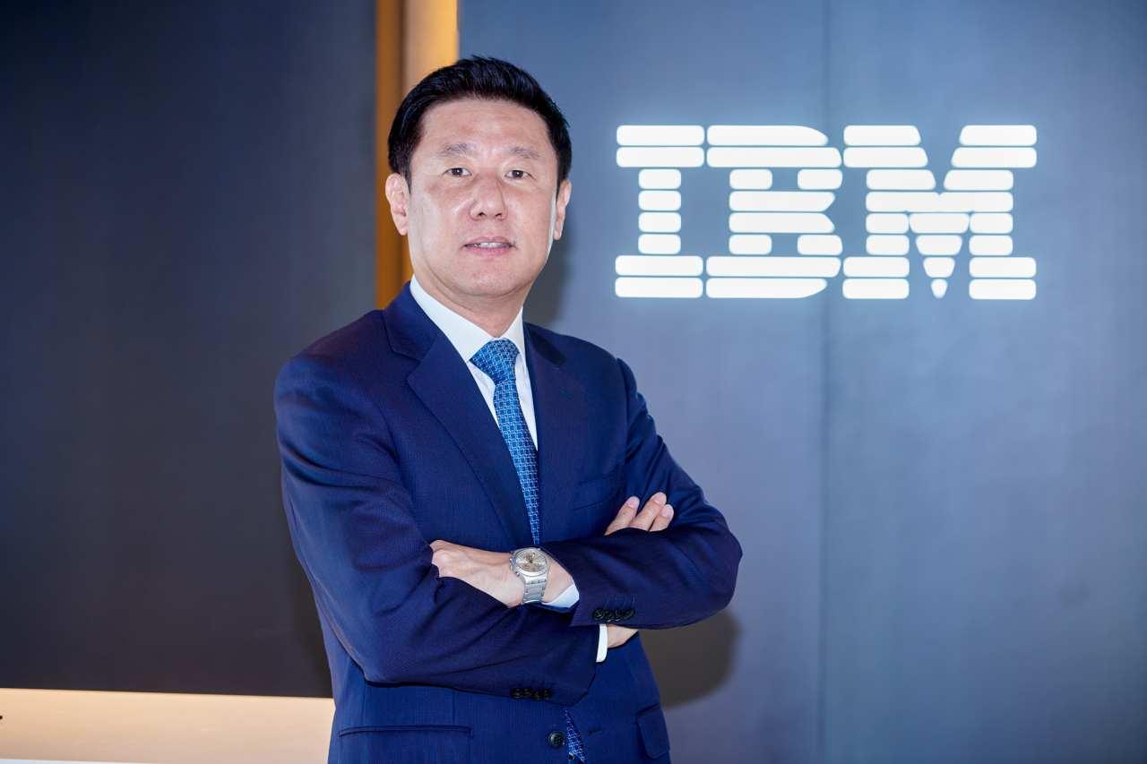 Won Sung-shik, general manager of IBM Korea (IBM Korea)