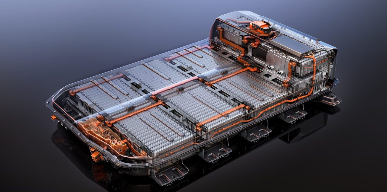 A Chevy Bolt battery pack (Chevrolet)