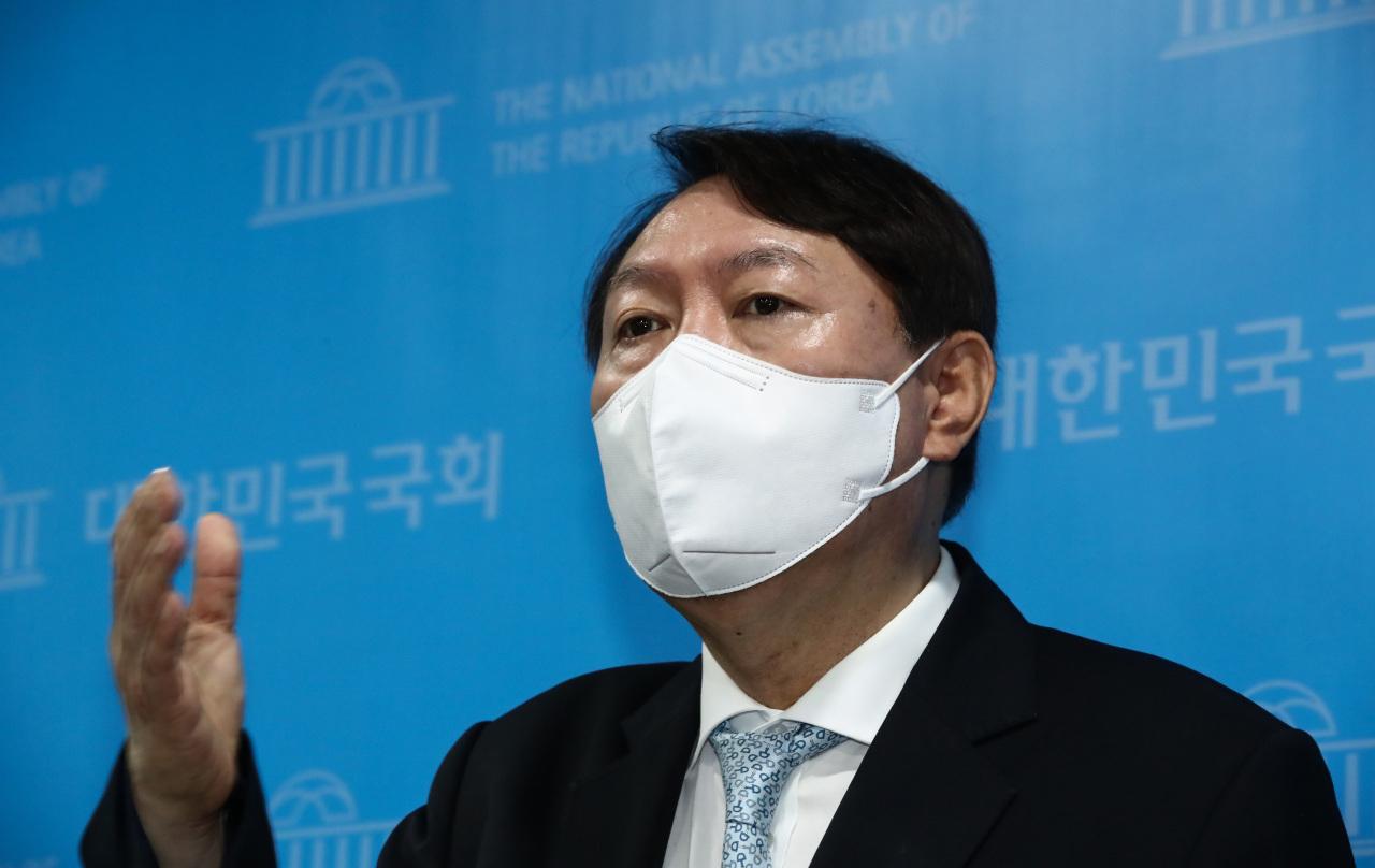 Former Prosecutor General Yoon Seok-youl (Yonhap)