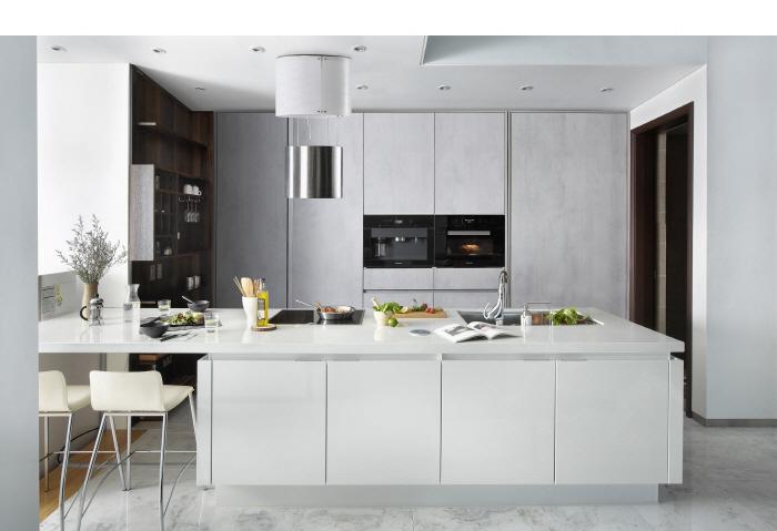 A promotional image of Hanssem's premium brand Kitchen Bach (Hanssem)