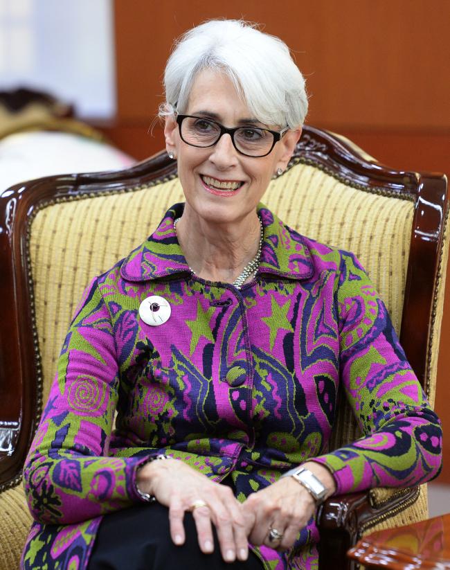 Wendy Sherman, Deputy Secretary of State Wendy Sherman (Yonhap)