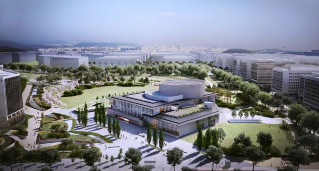 An artist's rendition of the new LG Arts Center building in Magok, western Seoul (Seoul Metropolitan Government)
