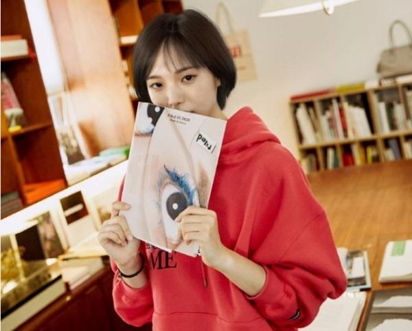A picture of LG Electronics' virtual influencer Reah Keem (LG Electronics)
