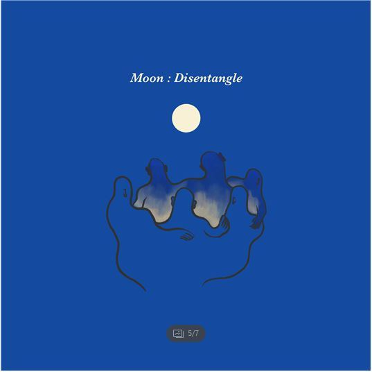 """Cover of """"Moon: Disentangle,"""" Seodo Band's first EP (Universal Music Group)"""