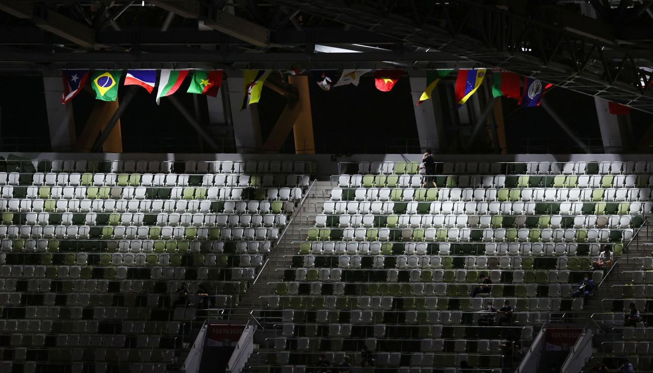 Empty stadium. (Yonhap)