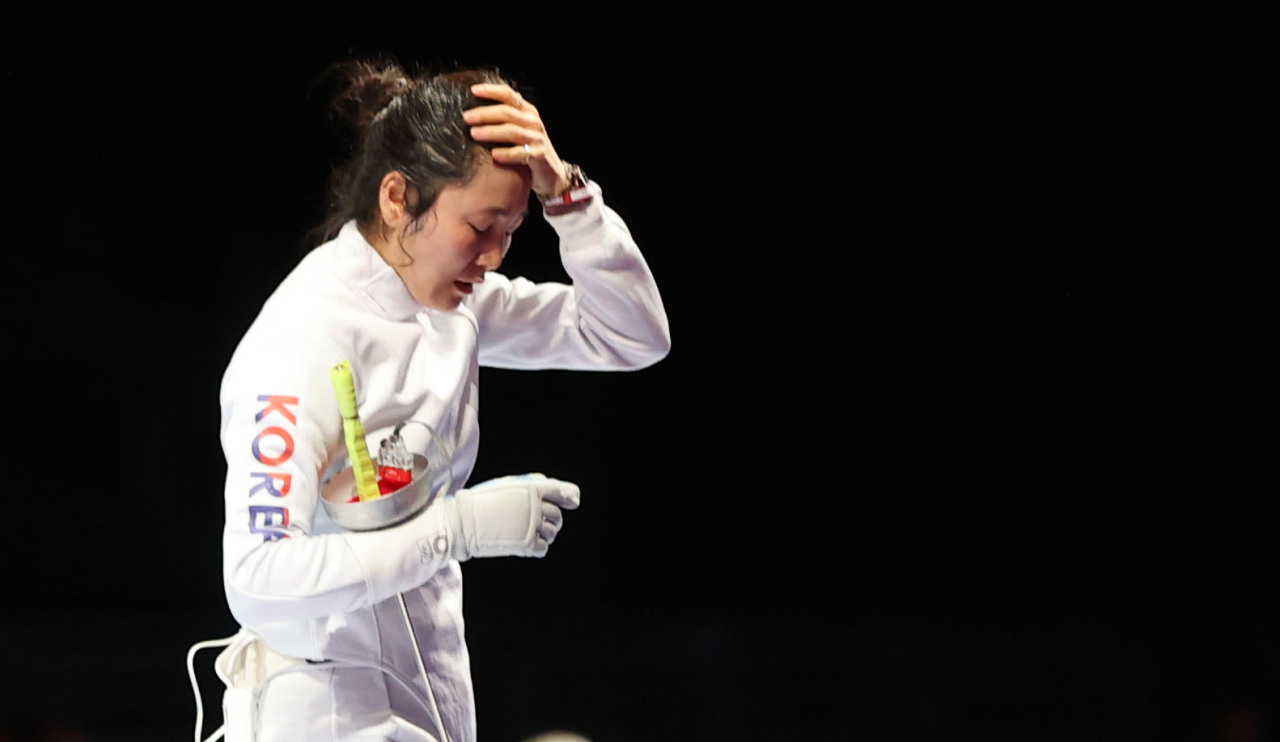 South Korean epee fencer Choi In-jeong (Yonhap)