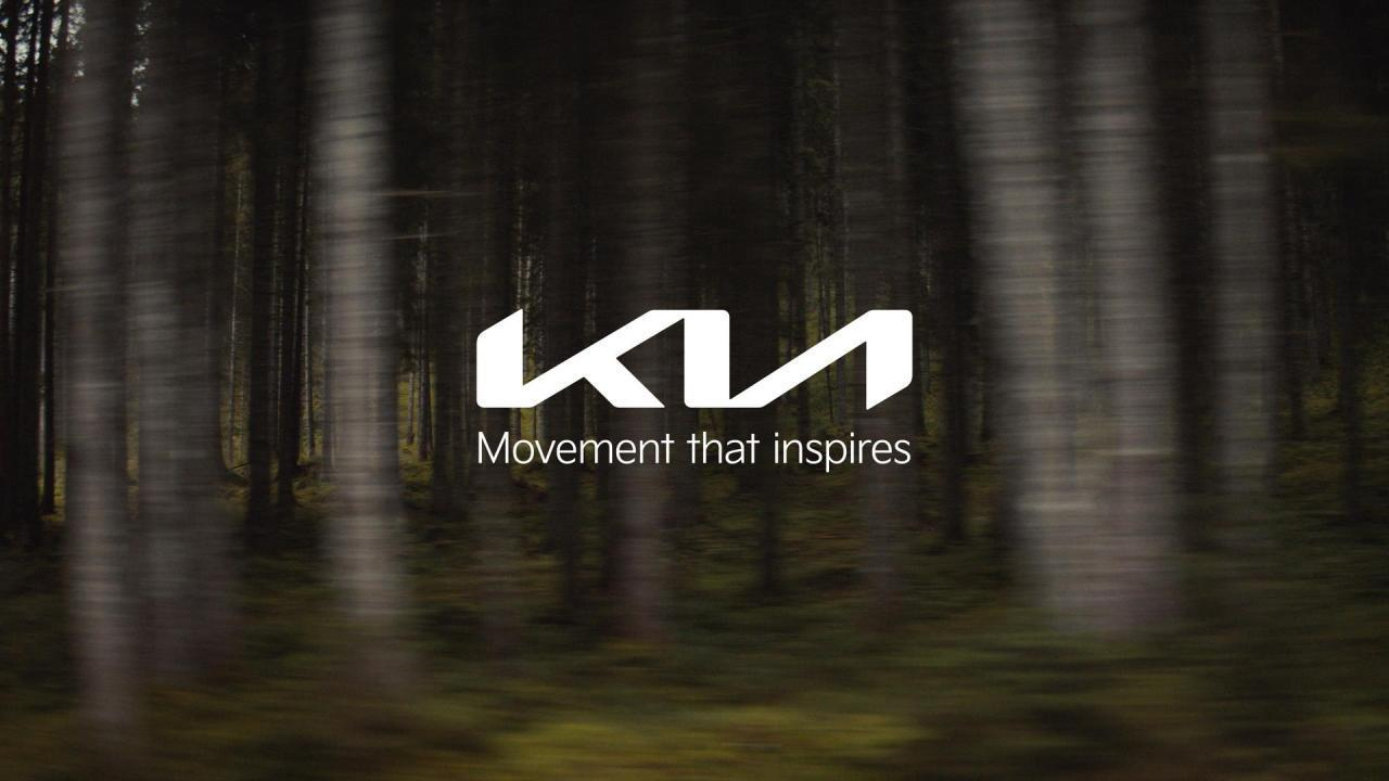 Kia Corp. unveils its new logo and brand slogan during a digital event on Jan. 15, 2021, in this photo provided by the automaker. (Kia Corp.)