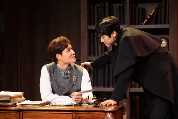 """Musical """"The Adventure of the Final Problem"""" will be streamed online on July 30 on Welcome Daehakro's YouTube channel. (KTO)"""