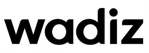A corporate logo of Wadiz (Wadiz)
