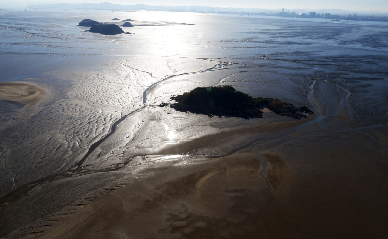 View of a tidal flat in Seocheon, South Chungcheong Province (Cultural Heritage Administration/Yonhap)