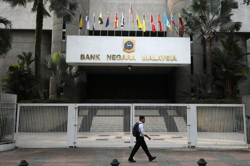 A man walks past the entrance of the Central Bank of Malaysia in Kuala Lumpur, Malaysia on July 31, 2019. Reuters