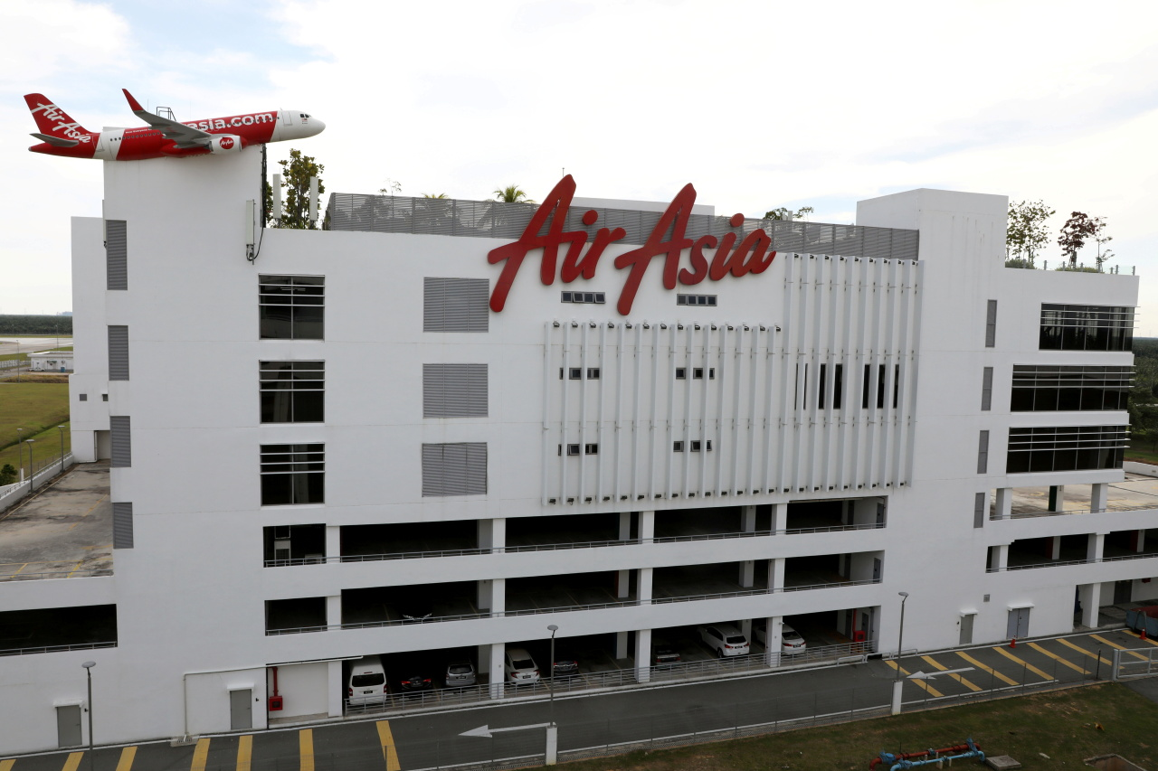 A general view of AirAsia headquarters, amid the coronavirus disease (COVID-19) outbreak in Sepang, Malaysia October 6, 2020. (Reuters)