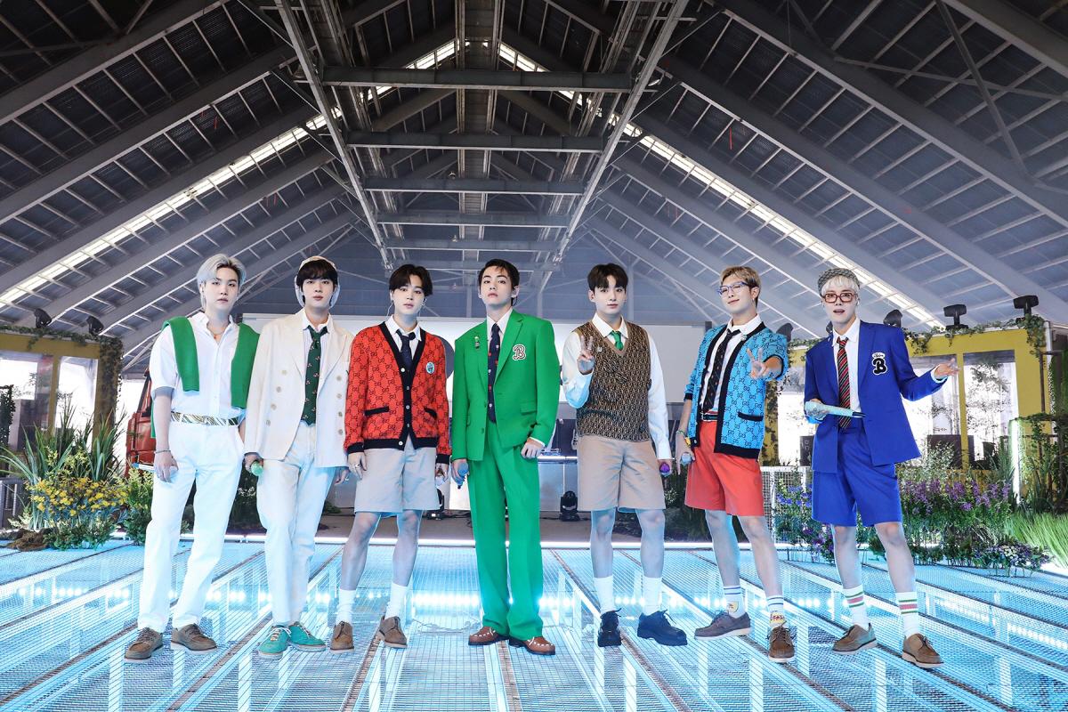 K-pop superstar BTS (Big Hit Music)