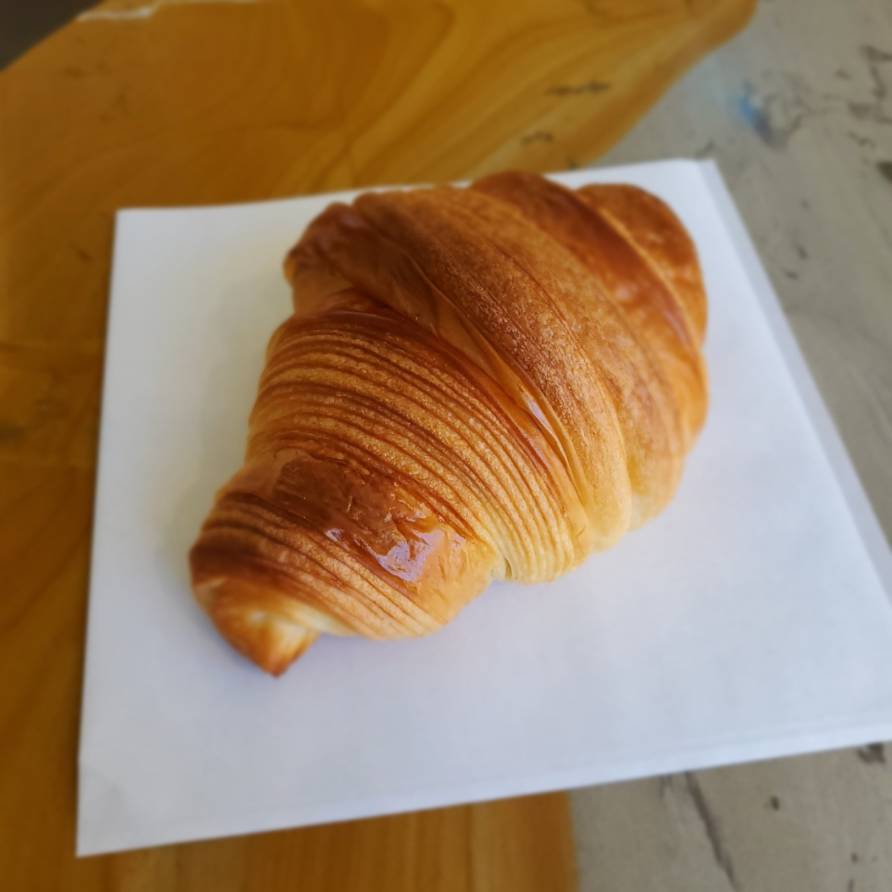 Artisan Croissant Bukchon's croissants are crafted with carefully curated flours designed to complement the butter used to make them. (Artisan Croissant by Artisan Bakers)