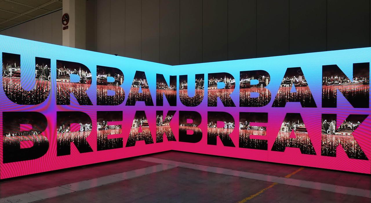 An installation view of the Urban Break Art Asia fair held in November 2020 (Urban Break)