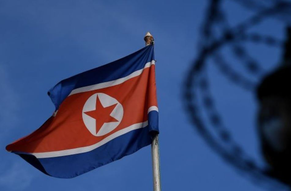 North Korean flag (AFP-Yonhap)