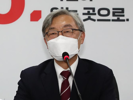 This photo shows Choe Jae-hyeong, former head of the Board of Audit and Inspection. (Yonhap)