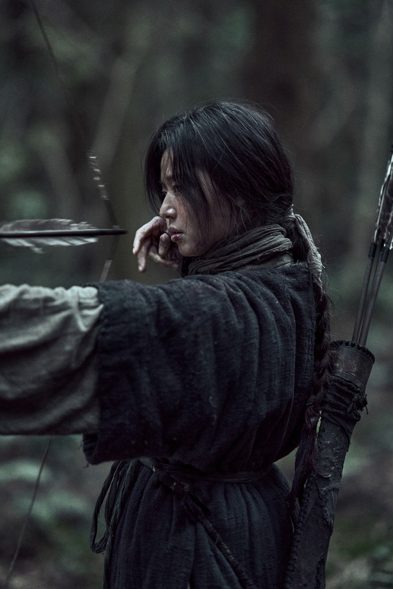 "A scene from Netflix's new episode ""Kingdom: Ashin of the North"" starring Jun Ji-hyun (Netflix)"