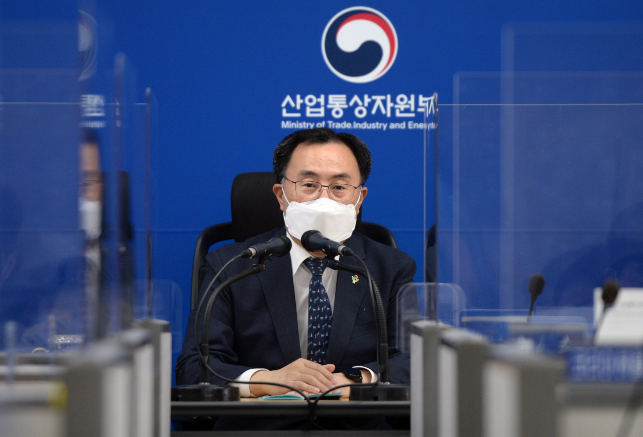 Minister of Trade, Industry and Energy Moon Sung-wook (Yonhap)