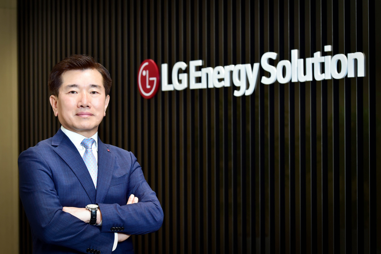 LG Energy Solution President and CEO Kim Jong-hyun