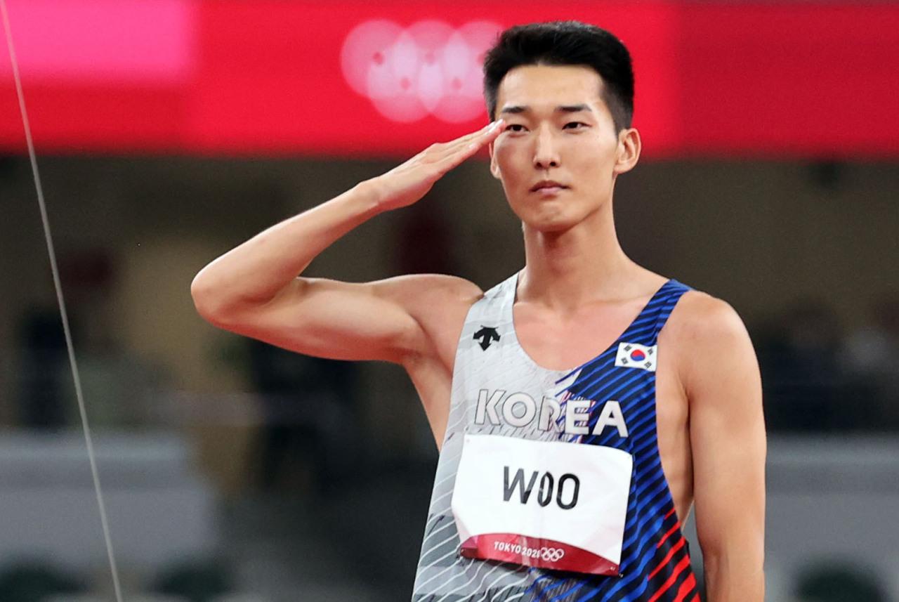 South Korean high jumper Woo Sang-hyeok (Yonhap)