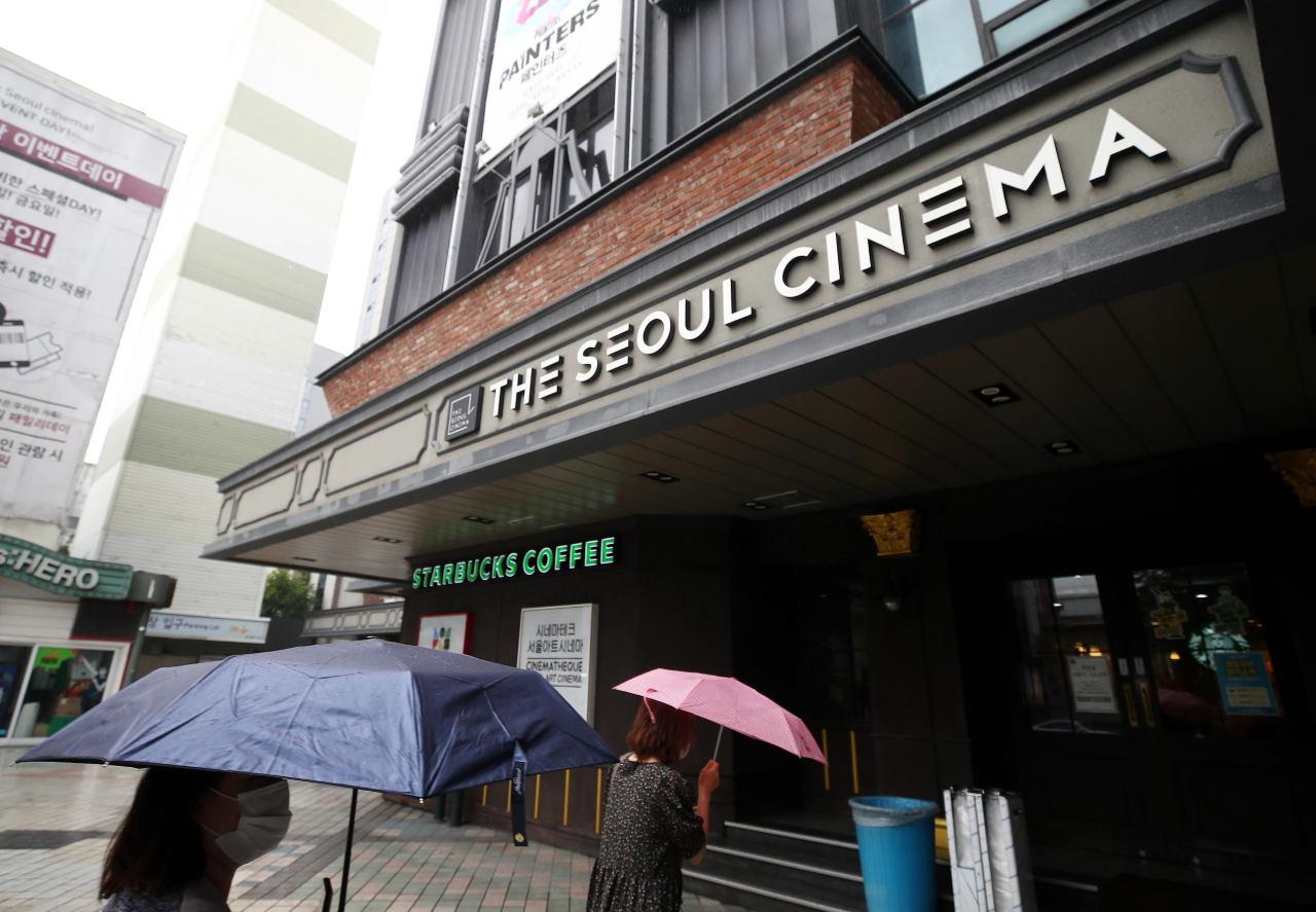 Seoul Cinema in Jongno, Seoul, on July 4 (Yonhap)