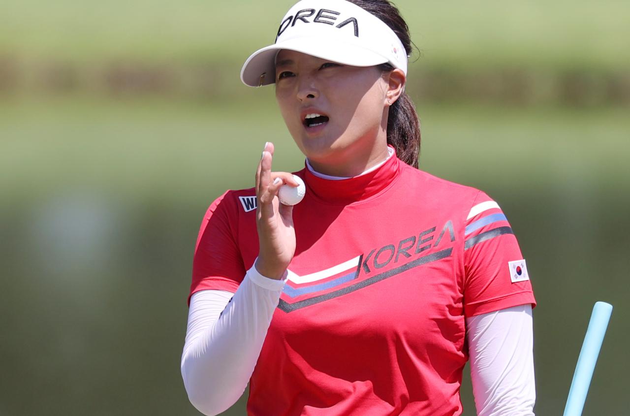 South Korean golfer Ko Jin-young (Yonhap)