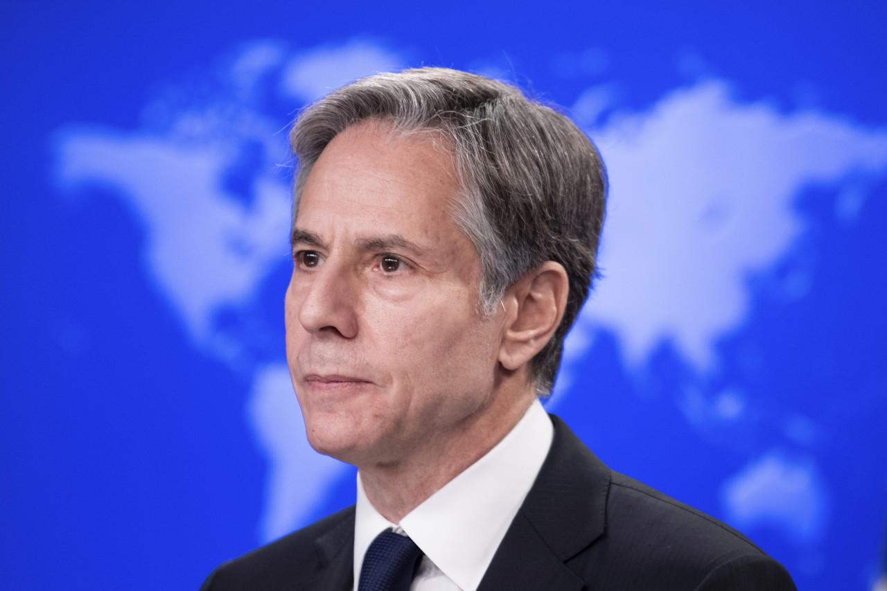 US Secretary of State Antony Blinken (AP-Yonhap)
