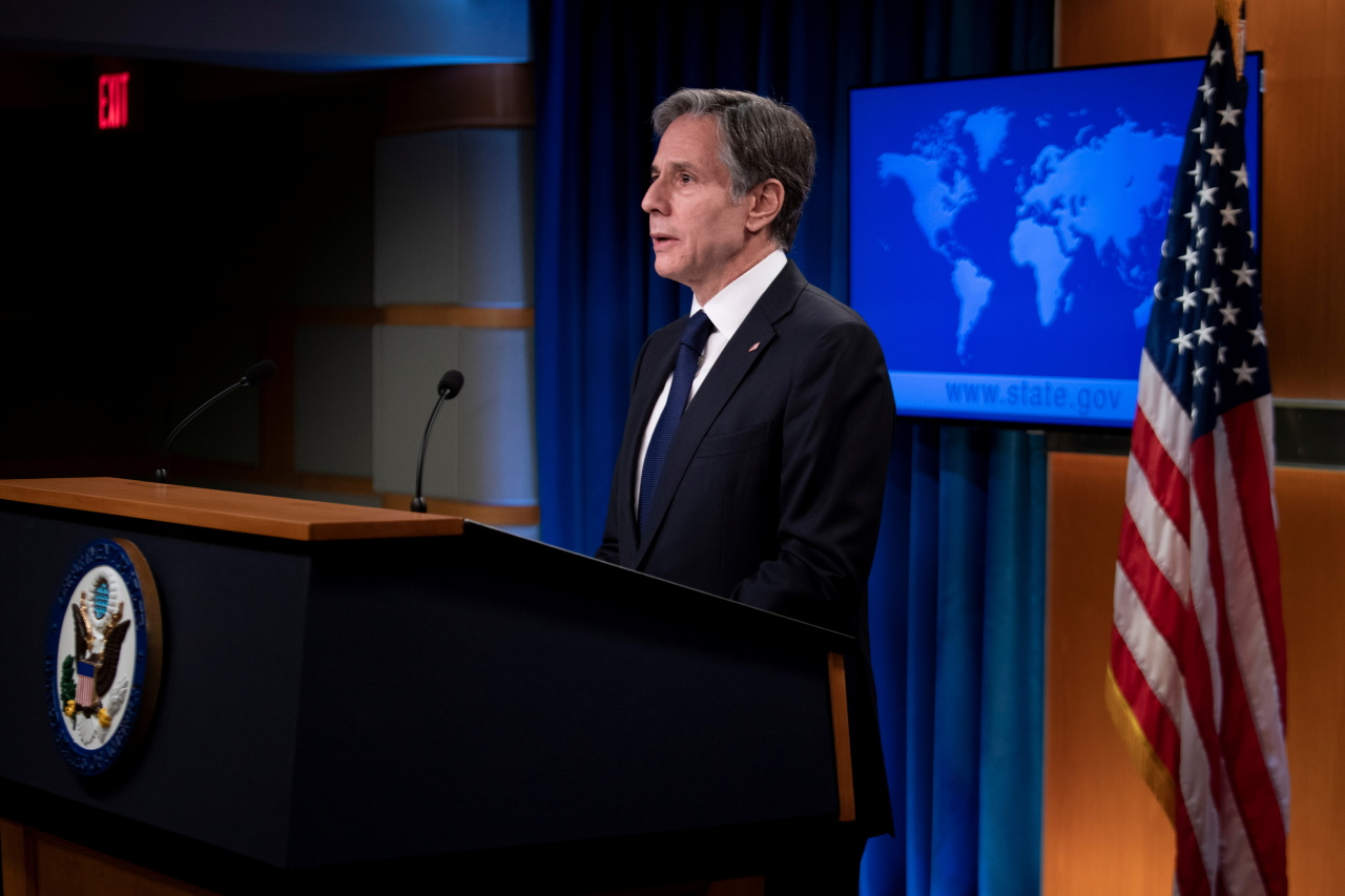 US Secretary of State Antony Blinken (Reuters-Yonhap)