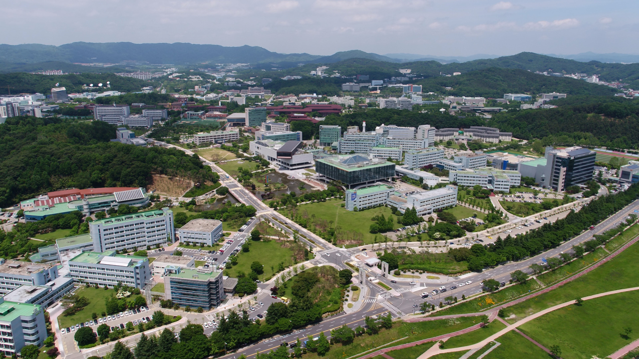 Korea Advanced Institute of Science and Technology's main campus in Daejeon (KAIST)
