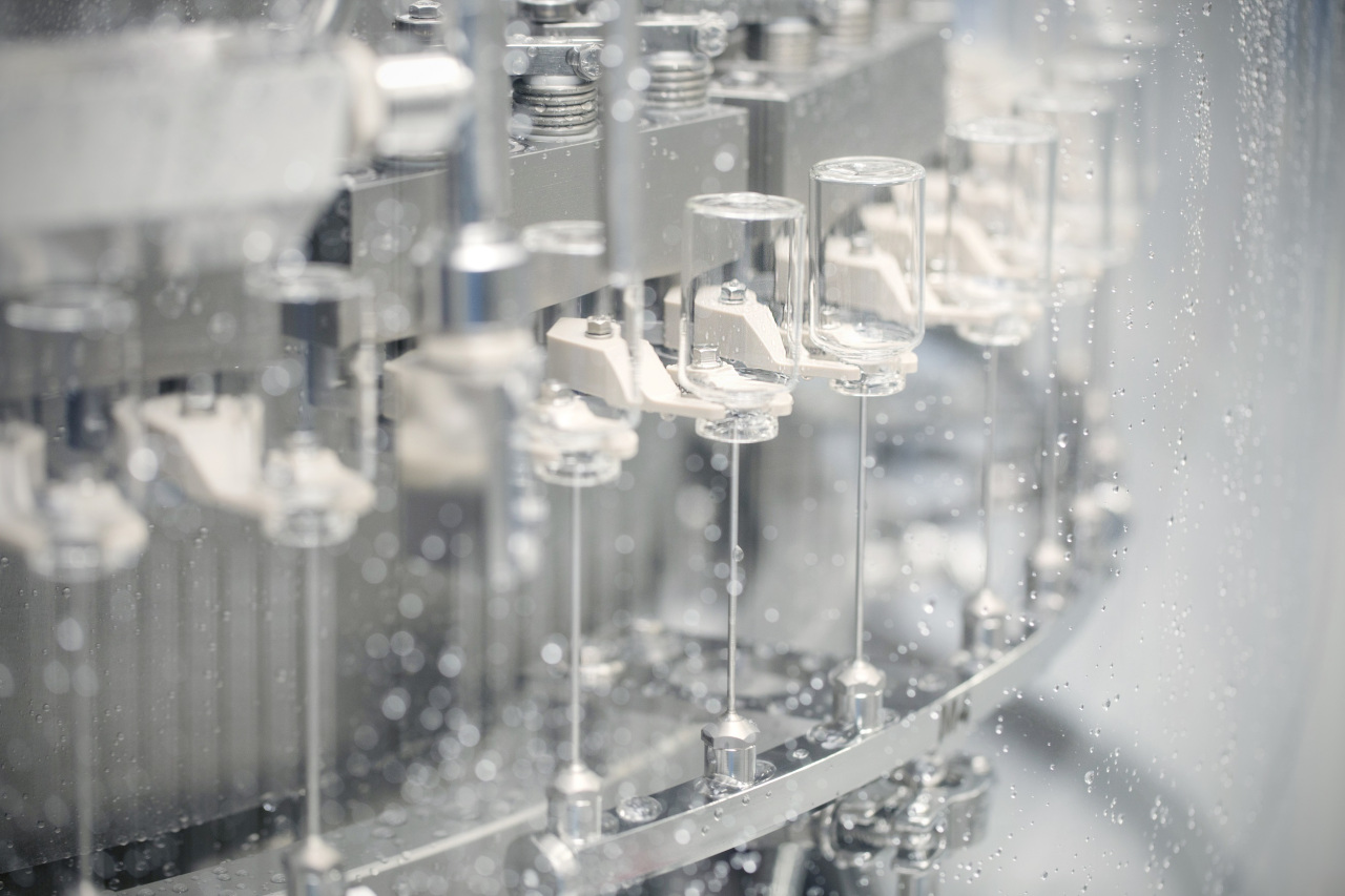 A picture shows the fill-finish operation at Samsung Biologics' manufacturing facility in Songdo, Incheon. (Samsung Biologics)