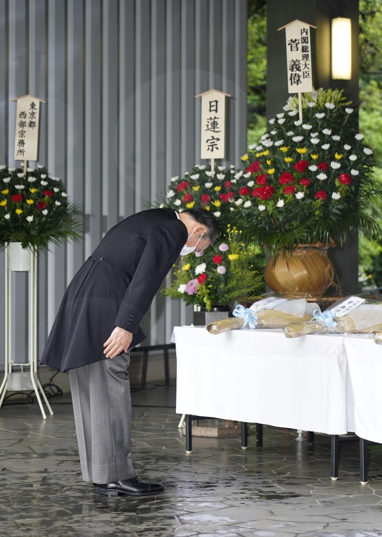 Japanese Prime Minister Yoshihide Suga (Yonhap)