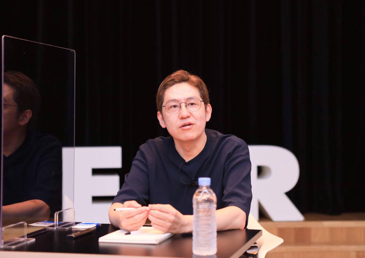 Naver Webtoon CEO Kim Jun-koo (Naver Webtoon)
