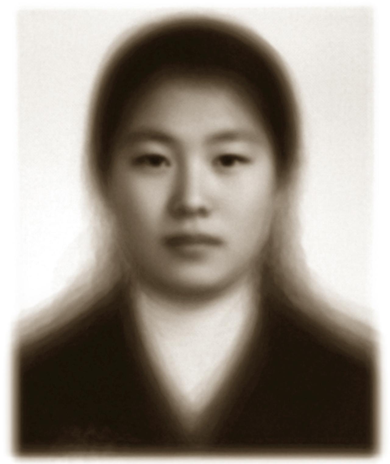 """High School Uni-Face: Girl"" by Suh Do-ho (Courtesy of the artist)"
