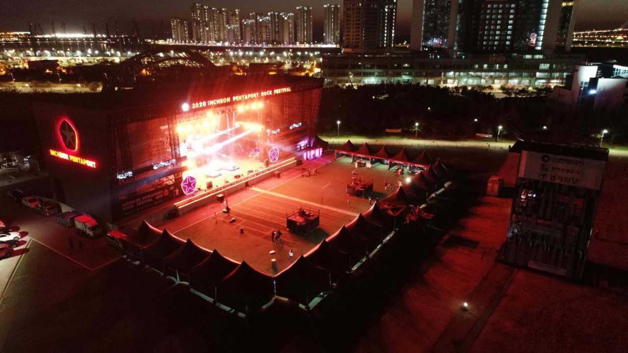 Last year's Incheon Pentaport Rock Festival (Incheon Pentaport Organizing Committee)