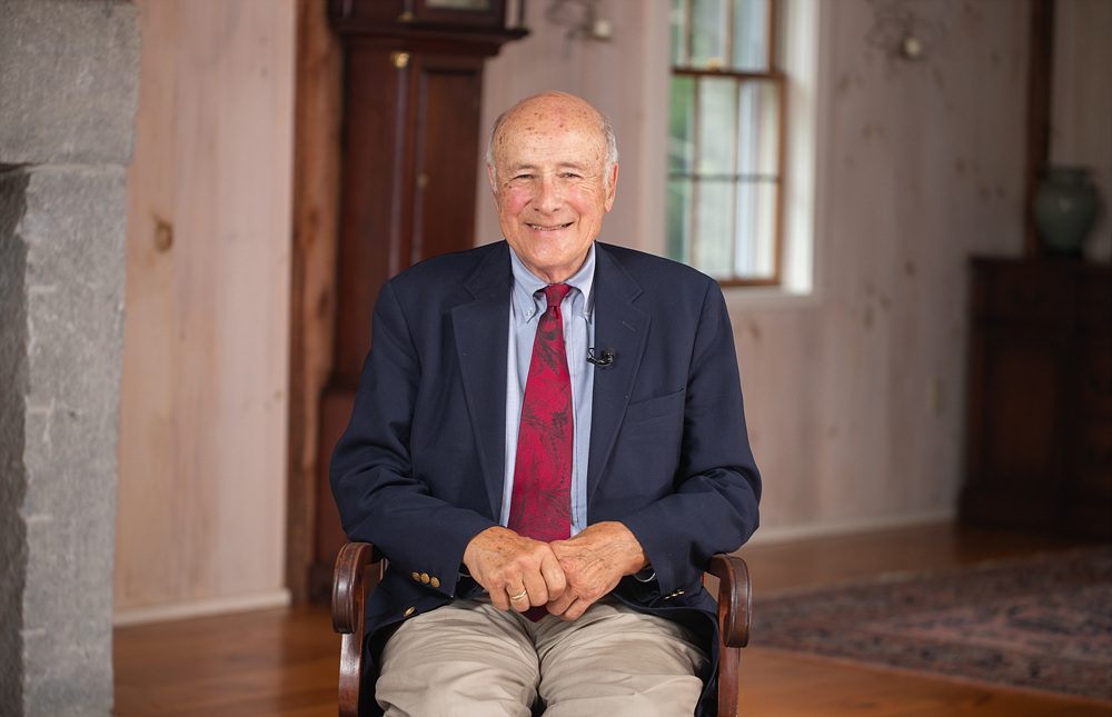 """American political scientist Joseph Nye in """"Great Minds"""" (EBS)"""